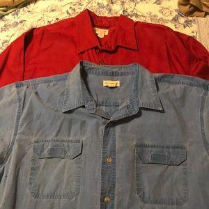 Bundle 2 Magellan button down shirts. XXL